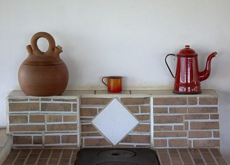Oven, Stove, Redneck, Rustic Stove, Old, Rural