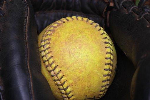 Softball, Glove, Ball, Sport, Game, Team, League, Play