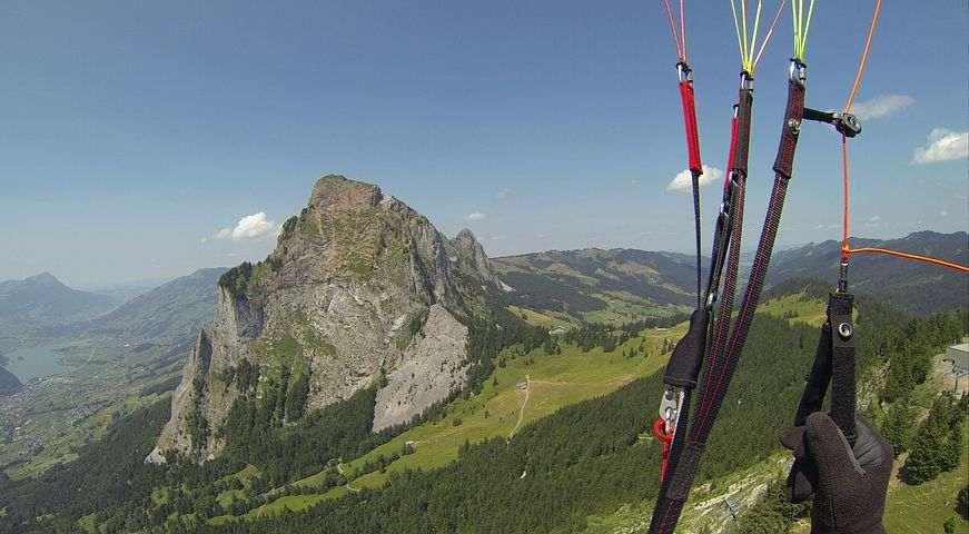 Paragliding, Fly, Summer, Mountains, Freedom, Myths