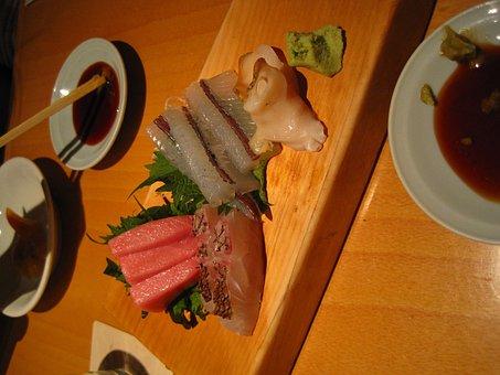 Japan Food, Real Sushi, Raw, Sushi