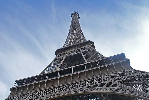 Eiffel Tower, Tower, The Centre Of, City, Paris
