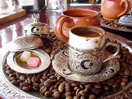 Coffee, Turkish Delight, Turkish Coffee