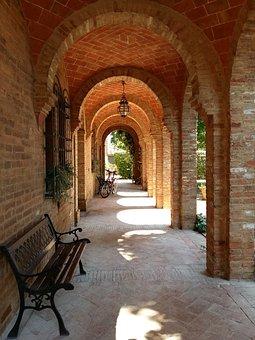 Piemonte, Italy, Asti Region, Vista, Agriturismo