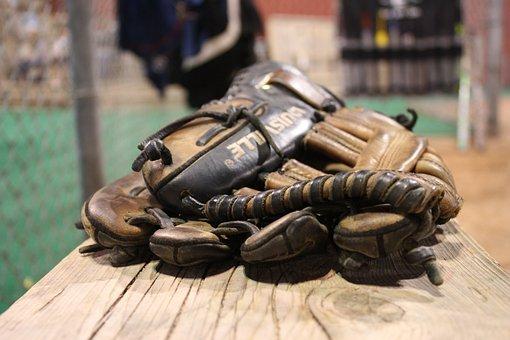 Gloves, Baseball, Back-catcher, Catch, Leather, Sport
