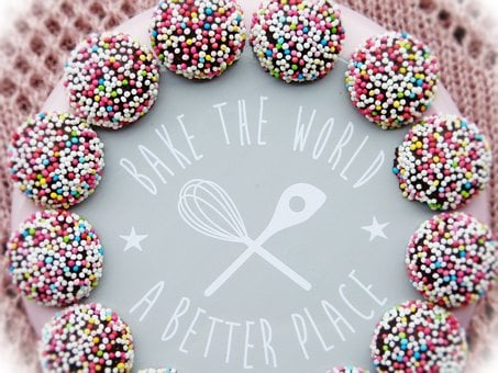 Bake, Motto, World, Improve, Sweetness, Cake, Pastries