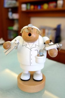 Hospital, Yi, Doll, Tooth Extraction, Doctor, Teeth