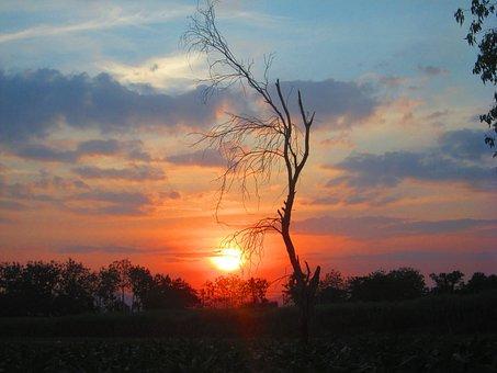 Sun, Evening, Lord Ah Thi Fall