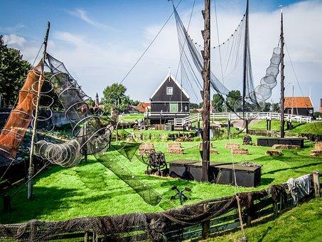 Zuiderzee Museum, Outdoor Museum, Crafts, Fishing House