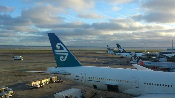 Newzealand, Jet De Go Pocket, New York Airways, Airport