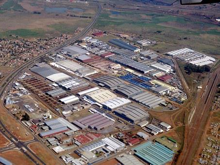 South Africa, Johannisburg, Industry, Factory, City