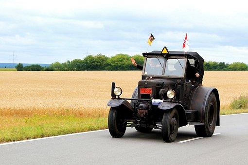Lanz-bulldog, Tractor, Historically