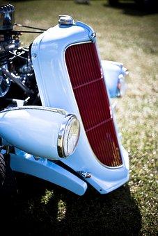 Radiator Mascot, Hood Ornamen, Cowl, Front Lid, Motor