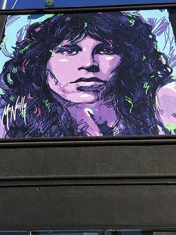 Jim Morrison, Music, Art