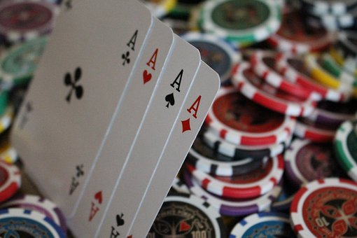 Poker, Game, Money, Color, Team, Ace, Red, Gold