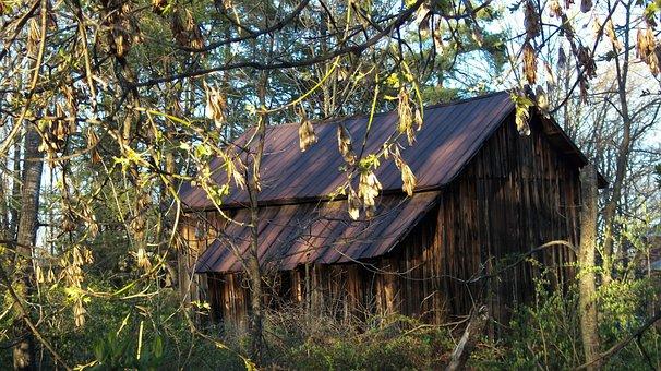 Pennsylvania, Old Barn, Barn, Farm, Rural, Timeworn