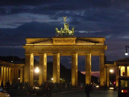 Brandenburg Gate, Building, Landmark, Berlin