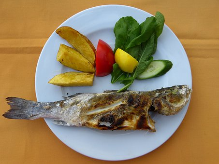 Delicious, Fish, Eat, Meal, Potatoes, Potato Corners