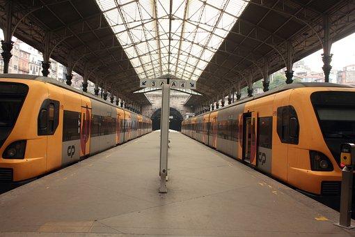 Sao Bento, Portugal, Train, Station, Depot