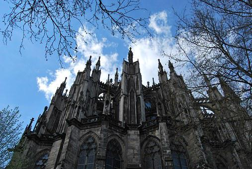 Cologne Cathedral, Cologne, Dom, Sky