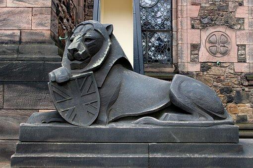 Lion, England, Scotland, Empire, Imperial, Union Jack