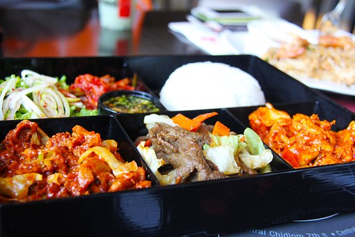 Korean Food, Rice, Meat, Beef, Pork, Hungry, Noodles