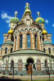 St Petersburg, Church, Savior On Blood, Monument