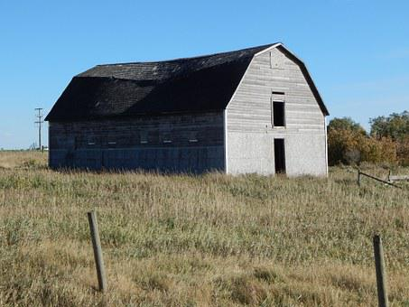 Barn, Old, Rustic, Farm, Wooden, Weathered, Rural