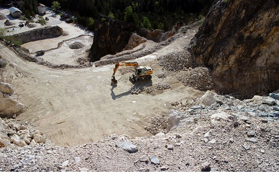 Quarry, Quarrying, Rock, Stones, Open Quarry