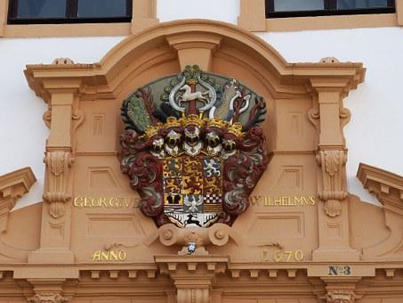 Celle, Lower Saxony, Old Town, Castle, Palace, Facade