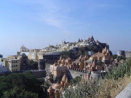 India, Palitana, Jainism Sacred, Town, History