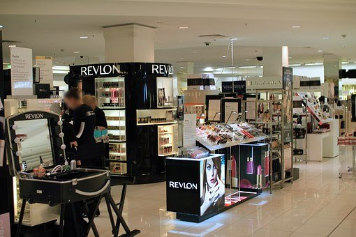 Department Store, Cosmetics Counter, Cosmetics, Sale