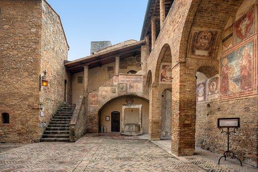 San Gimignano, World Heritage, Toscana, Italy, Building
