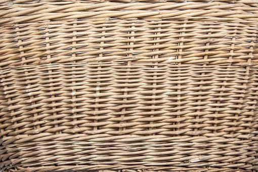 Basket, Braided Tank, Woods, Pliable Material