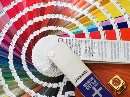 Color, Nuance, Pantone, Swatches, Colorful