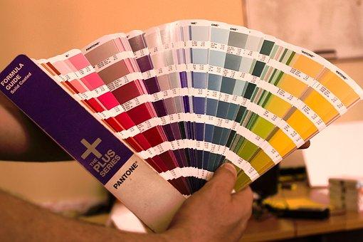 Pantone, Color, Nuance, Swatches