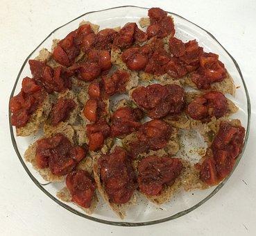 Bruschetta, Tomatoes, Delicious, Food, Italian