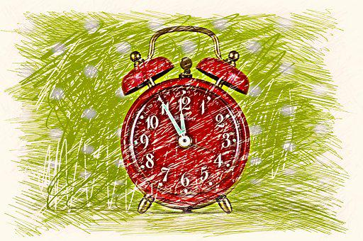 The Eleventh Hour, Disaster, Alarm Clock, Drawing
