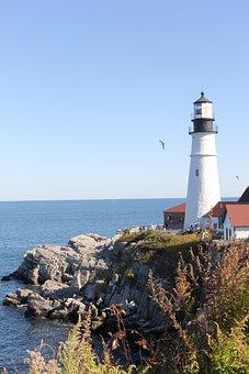 East Coast, Lighthouse, Coast, Coastline, Landmark