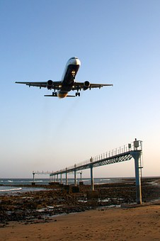 Aircraft, Landing, Land, Fly, Aviation, Airliner