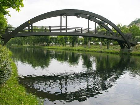 Walkway Wood, River, Monforte De Lemos