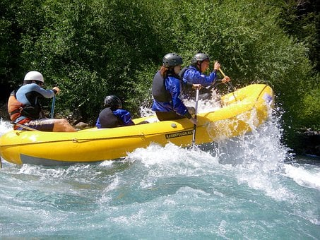 Rafting, Pucon, River, Adventure, Boat, Rowing, Nature