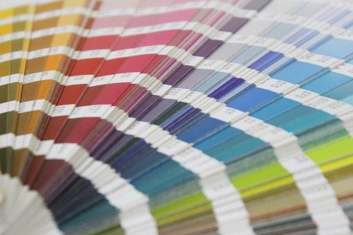 Colors, Pantone, Nuance, Swatches