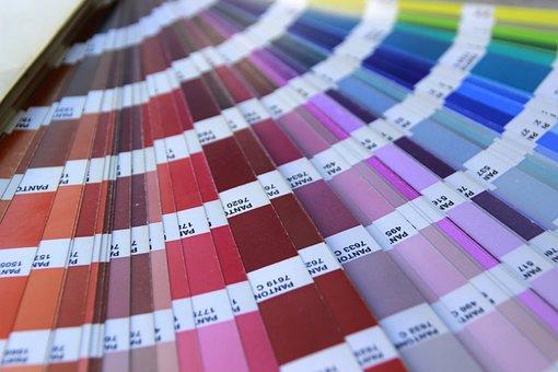 Color, Pantone, Nuance, Swatches