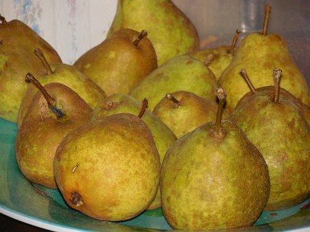 Pears, Fruit, Food, Organic, Healthy, Fresh, Diet