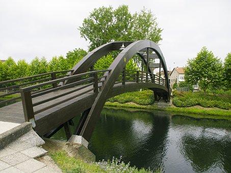 Bridge, River, Monforte De Lemos
