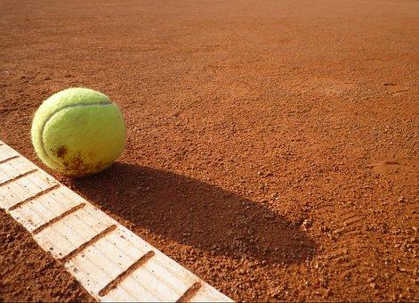 Ball Sports, Tennis Court, Tennis, Yellow, Tennis Ball