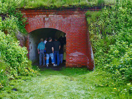 Tunnel, Tour, Transition, Bunker, Osowiec, Fortress