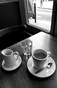 Coffee, Bistro, Absence