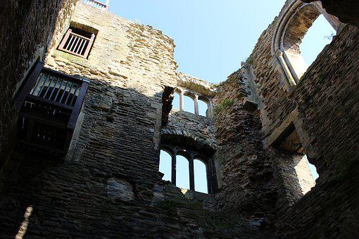 Castle, Ruins, Building, Tower, Historic, Medieval
