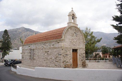 Church, Stone, Excellent Location, Landscape